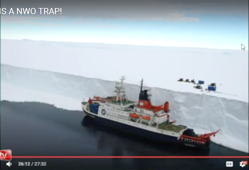 Antartica is a 20-story wall